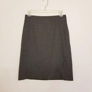 Banana Republic Gray Pencil Skirt stretch size 0
